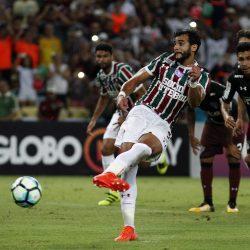 Fluminense x São Paulo - 18/10/2017 Rio de Janeiro - 18/10/2017 - MARACANÃ Fluminense x São Paulo se enfrentam pela vigésima sétima rodada do Campeonato Brasileiro 2017. FOTO NELSON PEREZ/FLUMINENSE F.C.