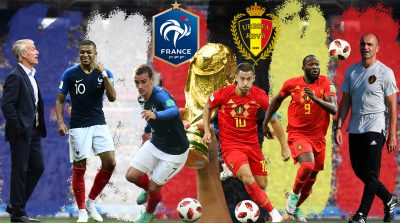 France vs Belgium World Cup 10.07.2018