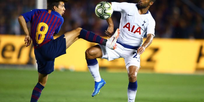 Barcelona vs Tottenham UEFA Champions League 11/12